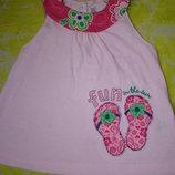 Платье - футболочка Carter's на 1-2 года