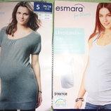 Майка и туника для беременных Esmara. Размер S, М.