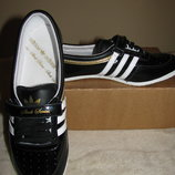 Нові шкіряні брендові шикарні кросовки ADIDAS Comfort System Оригінал р.4 стелька 22,5 см