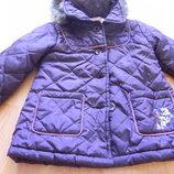 стеганая курточка для девочки