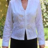 Нарядная блузка с паетками на крючёчках.