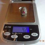 Роскошное Серебряное кольцо.Фантастика.Эксклюзив