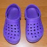 Красивые кроксы для ребенка, размер С13 19 см