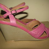 Босоножки сандалии стильні шкіряні George ULTRA COMFORT оригінал німеччина р.38 стелька 24 см