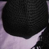 шапка и шарф на подростка девочку