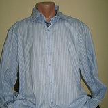 Классическая мужская рубашка, 3XL, 4XL, Турция смотрите замеры