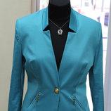 Шикарный женский стильный пиджак на подкладке, р.44,48, Турция