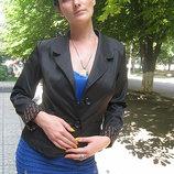 Пиджак 2 пуговицы, 46,50 без подкладки, Украина