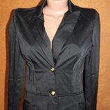 Пиджак черный с манжетами 42 размера S
