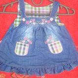 джинсовый сарафанчик на девочку 1,6 лет