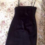 Маленькое черное платье классика NAFNAF 38 paзмер