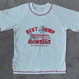 Новая стильная футболка для мальчика Тм Бома на рост 110см