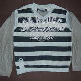 спортивная кофта, реглан, серый, 146-152