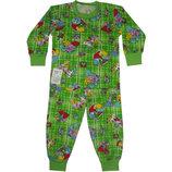 Пижама цветная Бен 10 из начеса. Размеры с 80 см - 86 см.
