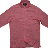 мужская рубашка в мелкую модную клетку