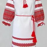 Платье вышиванка. Туника вышиванка.