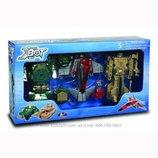 Игровой набор - Робот-Трансформер 15 см , Танк зеленый , Самолет, Танк бежевый в нетоварной упак