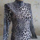 Гольф сетка, леопардовый принт, 40-44