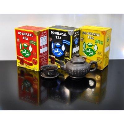 Черный цейлонский чай «Do Ghazal Tea Pure Ceylon» 500г Akbar акбар две газели дугазел