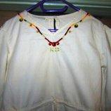 Блузка школьная белая девичья