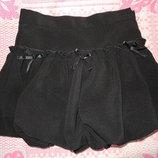 Юбка черная даром школьная для первокласницы