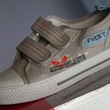 Кеды новые для мальчика, девочки на двух липучках, Arial, размер 33