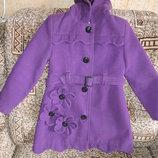 Пальто на осень, теплую зиму для девочки