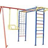 Детский игровой комплекс эконом с качелей, детская площадка