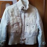 РАСПРОДАЖА Курточка с кроликом,зима,демисезон. Размер S-L