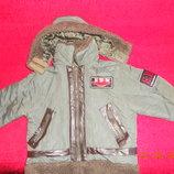 Курточка пилот EBW на мальчика 3 лет