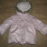 Курточка тепла стильна Next Оригінал на ріст 86 на вік 1-1.5 рочки