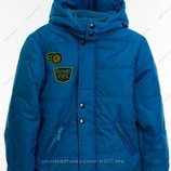 Теплые деми еврозима куртки от 98 до 134