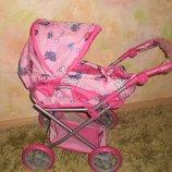 Детская коляска-трансформер для кукол. Регулируемая ручка Акционная цена