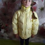 куртка LBH зимняя на девочку 7-9 лет сост. новой обмен