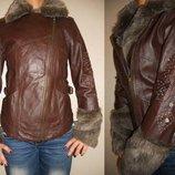 Куртка-Косуха из натуральной кожи новая 8-10 р.