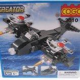 Конструктор Военный самолет 3010 , 231 дет