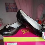Туфли ортопедические для девочки новые чёрные размер 31,32,33,34,35,36