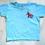 Фирменная футболка на 3-4 года