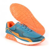 Nike Air Max реплика мятно-оранжевые Sport