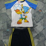 Спортивный костюм для малышей adidas F49647 рост 86 и 92см.