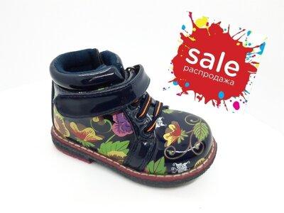 Демисезонные утепленные ботинки на девочку 22,23 р. Y-Top, уай топ, демі, осень, осінь, весна, флисе