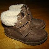 Демисезонные ботинки F&F р.8 на 25 15,6 см по стельке