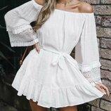 Стильная пляжная туника в наличииПляжное платье в наличии