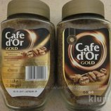 Кофе растворимый Cafe dOr Gold 200 г Польша