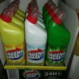 Средство для чистки унитаза Agent Max 1л