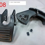 ремонт колясок, запчасти на коляску, тормозная педаль, тормозной блок