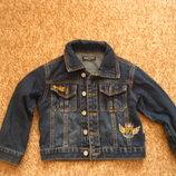 Джинсовая курточка на 2-3 года