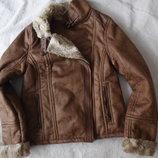 Куртка дубленка полупальто женское новое