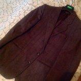 Пиджак шерсть 100% отл состояние50-52