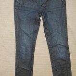 Узкие темно-синие джинсы G STAR 'ELECT STRAIGHT WMN'. Голландия. 30/32.
